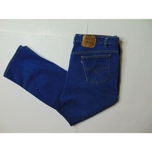 Vintage Levis 42 X 28 Blue Jeans Red Tab Straight